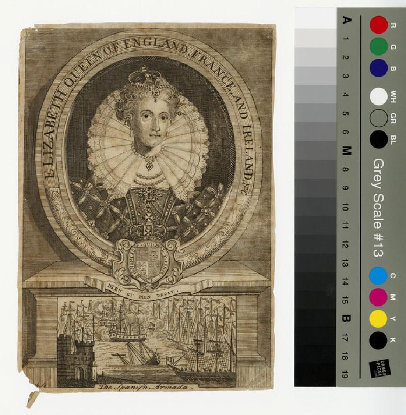 Portrait of Elizabeth I (WAHP13048)