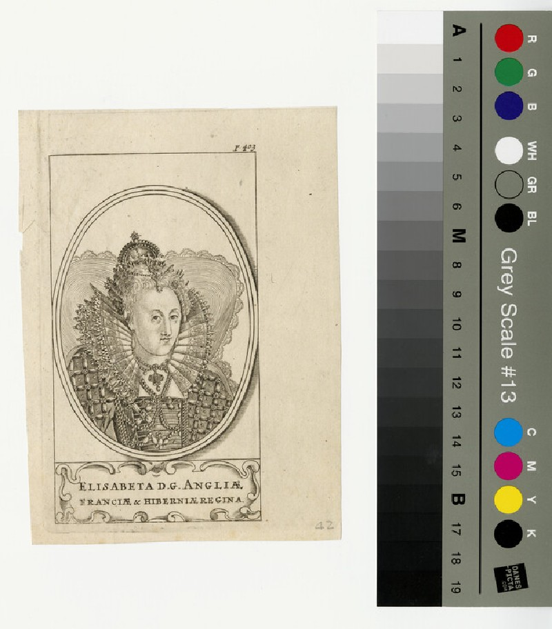 Portrait of Elizabeth I (WAHP13056)