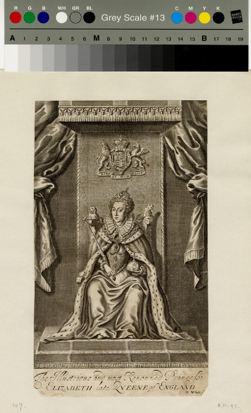 Portrait of Elizabeth I (WAHP13073)