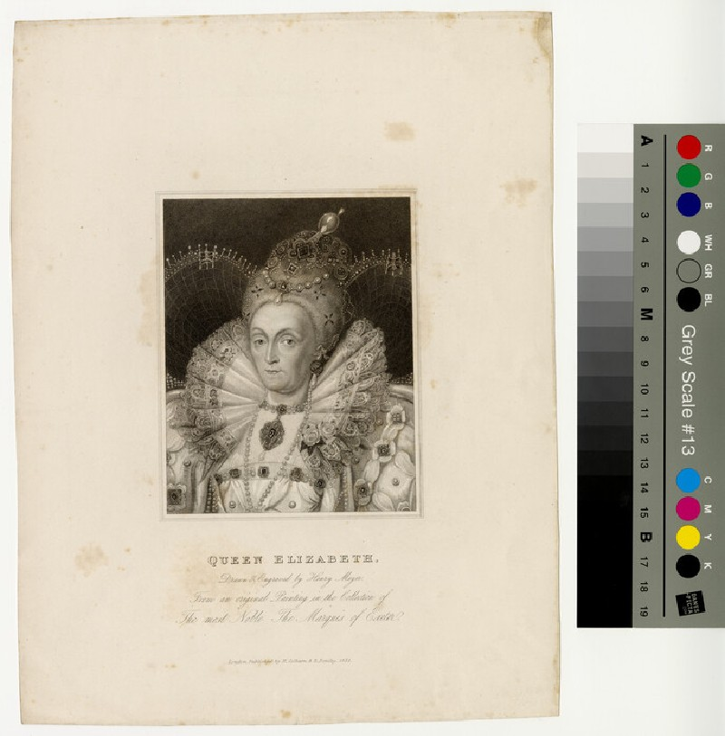 Portrait of Elizabeth I (WAHP13083)
