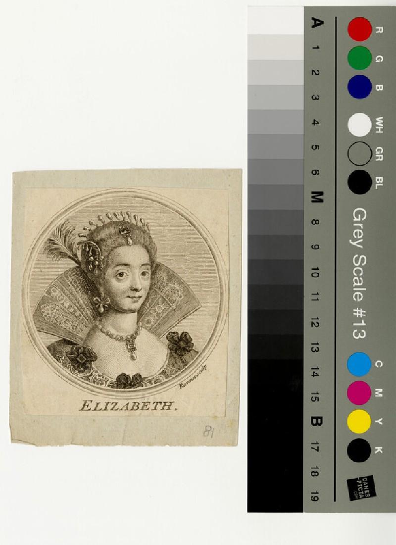 Portrait of Elizabeth I (WAHP13094)