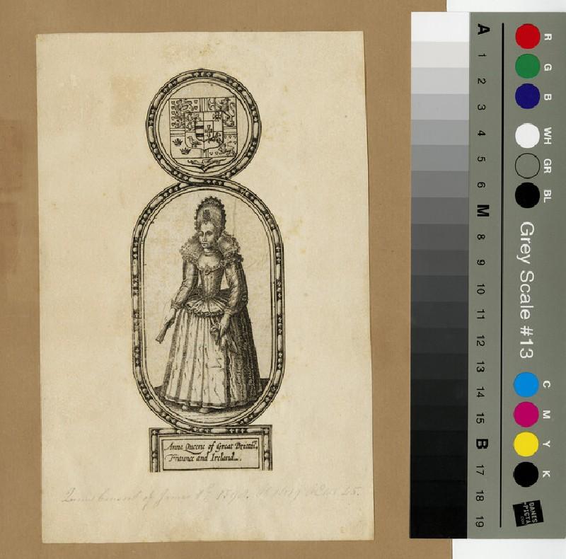 Portrait of Anne of Denmark (WAHP13101)