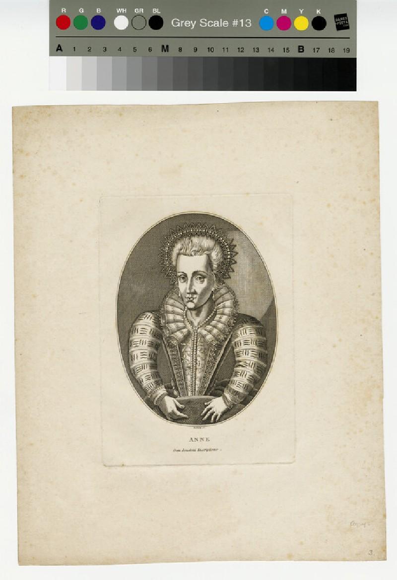 Portrait of Anne of Denmark (WAHP13104)