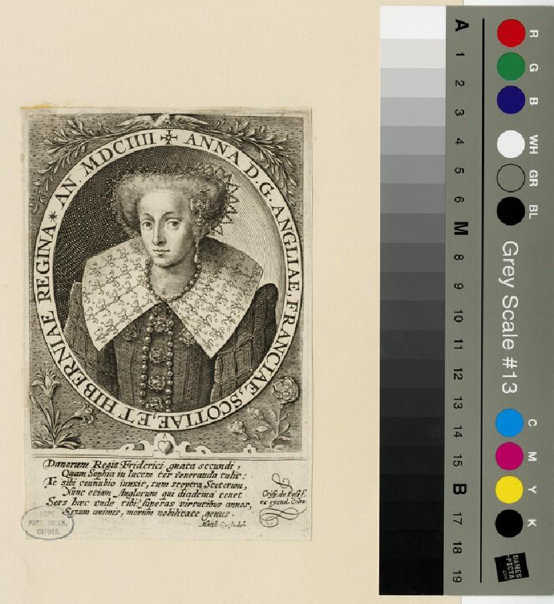 Portrait of Anne of Denmark