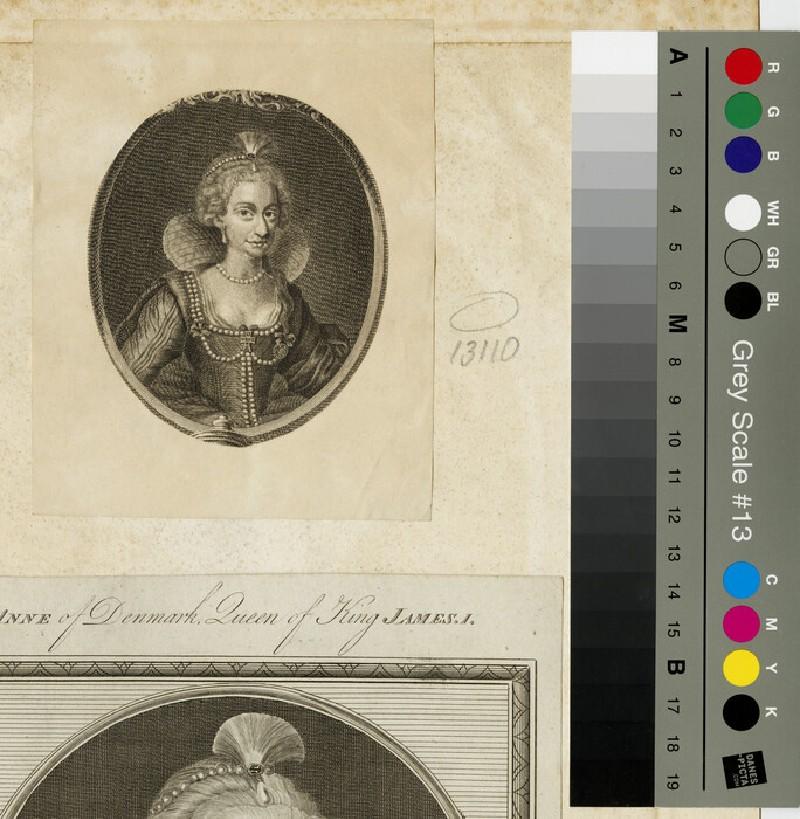 Portrait of Anne of Denmark (WAHP13110)