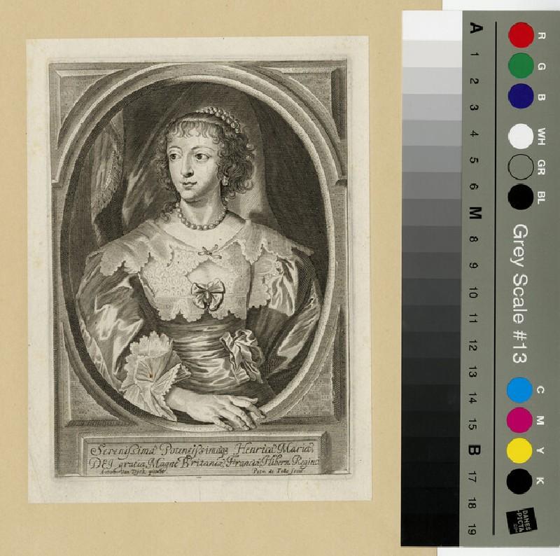 Portrait of Henrietta Maria (WAHP13132)