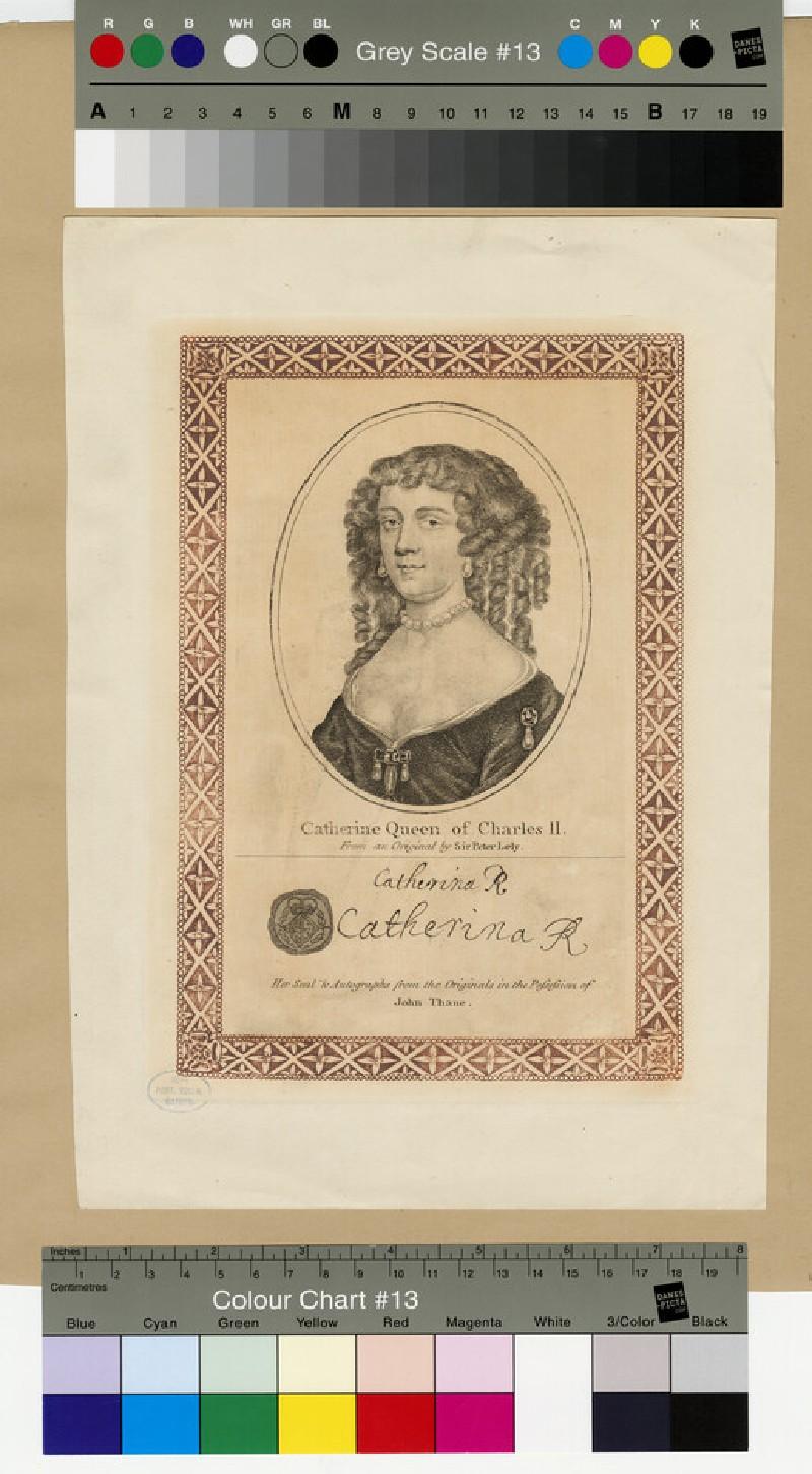 Portrait of Catharine of Braganza (WAHP13164)