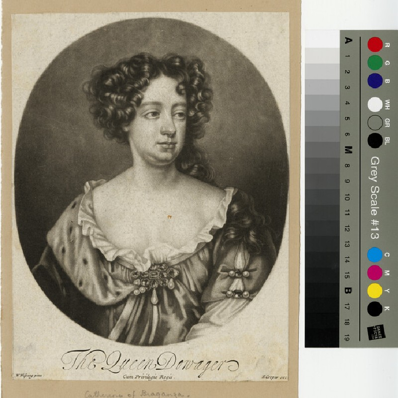 Portrait of Catharine of Braganza, 'The Queen Dowager'
