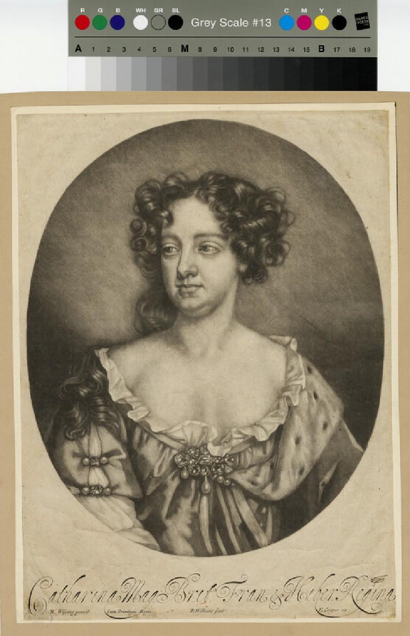 Portrait of Catharine of Braganza (WAHP13171)