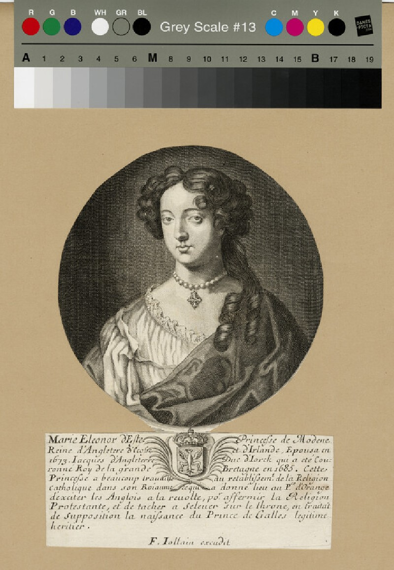 Portrait of Mary of Modena (WAHP13186)