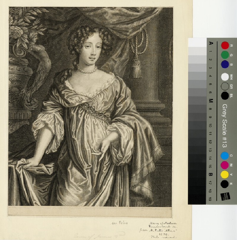 Portrait of Mary of Modena (WAHP13194)