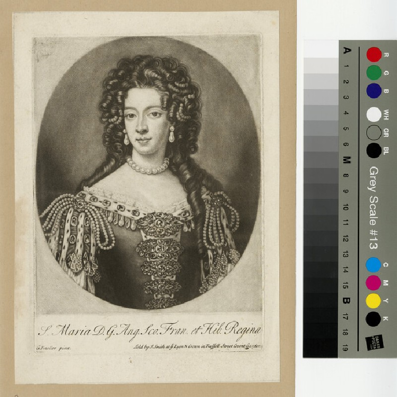 Portrait of Mary of Modena