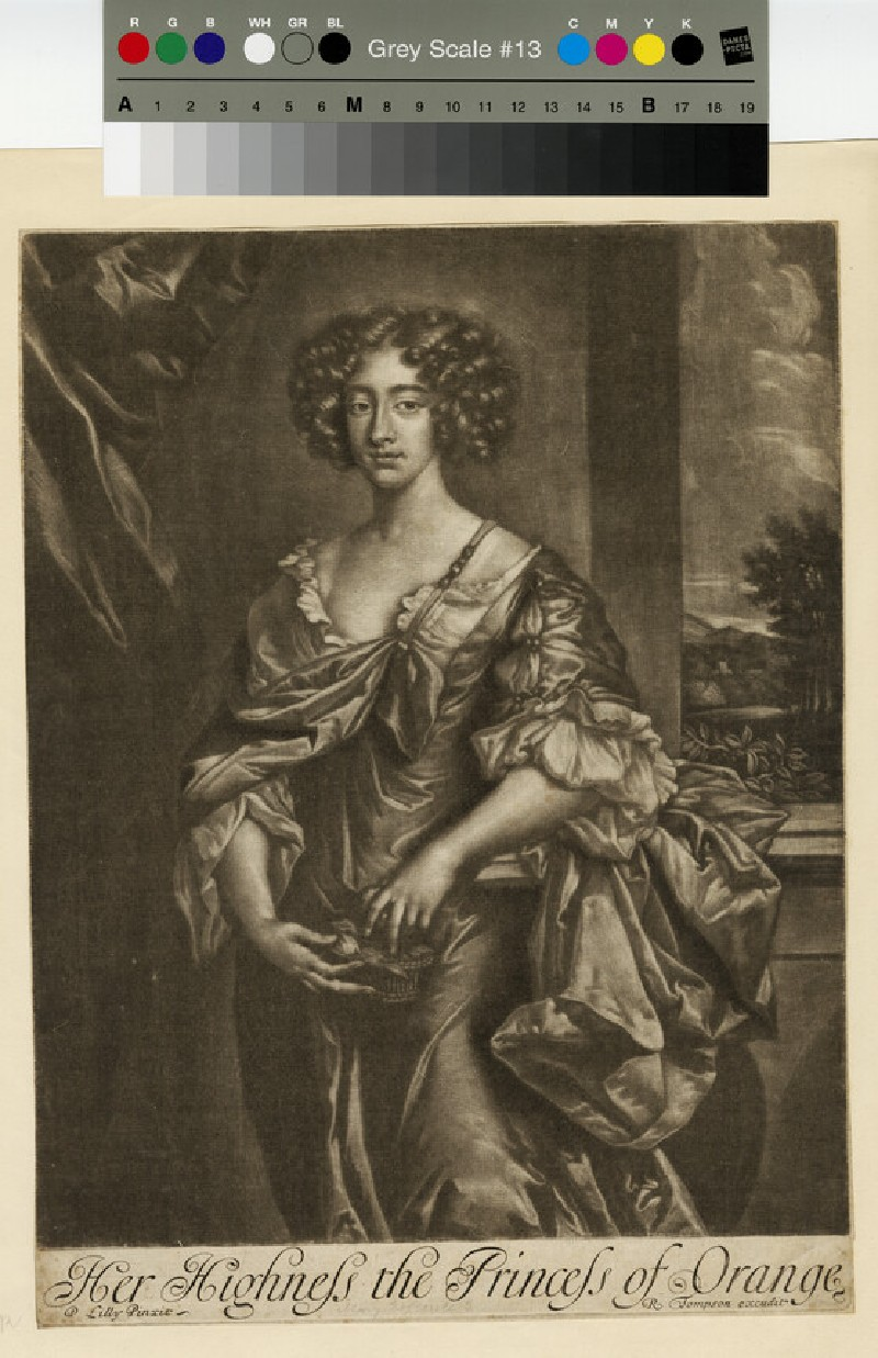 Portrait of Mary II (WAHP13208)