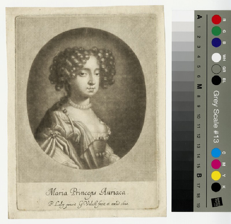 Portrait of Mary II (WAHP13210)