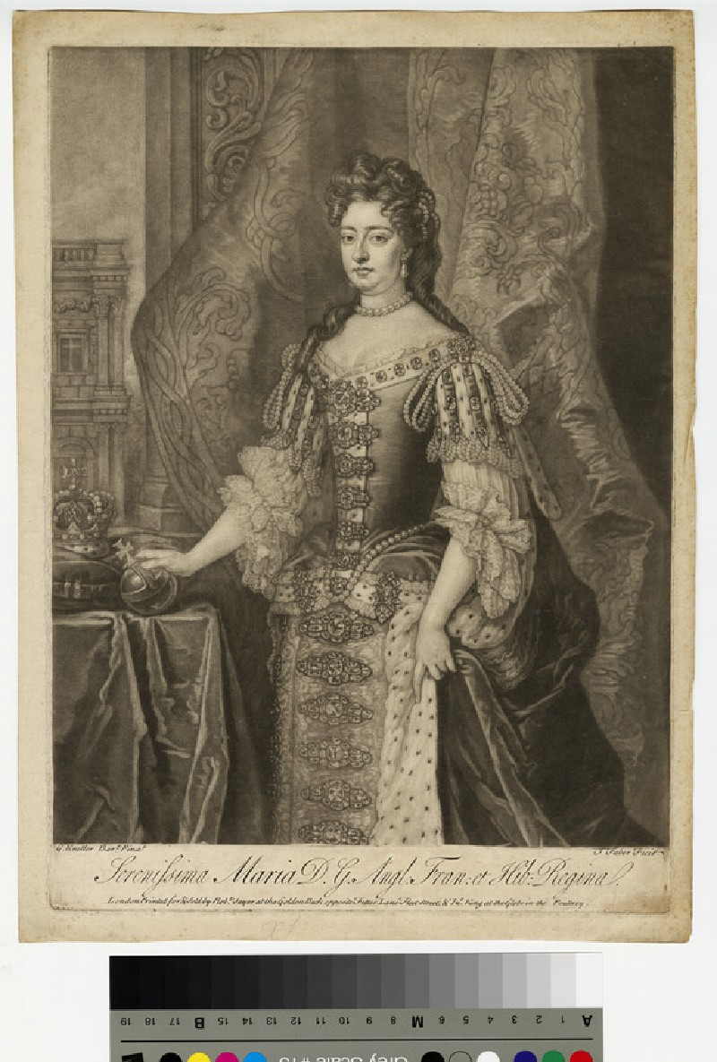 Portrait of Mary II (WAHP13213)