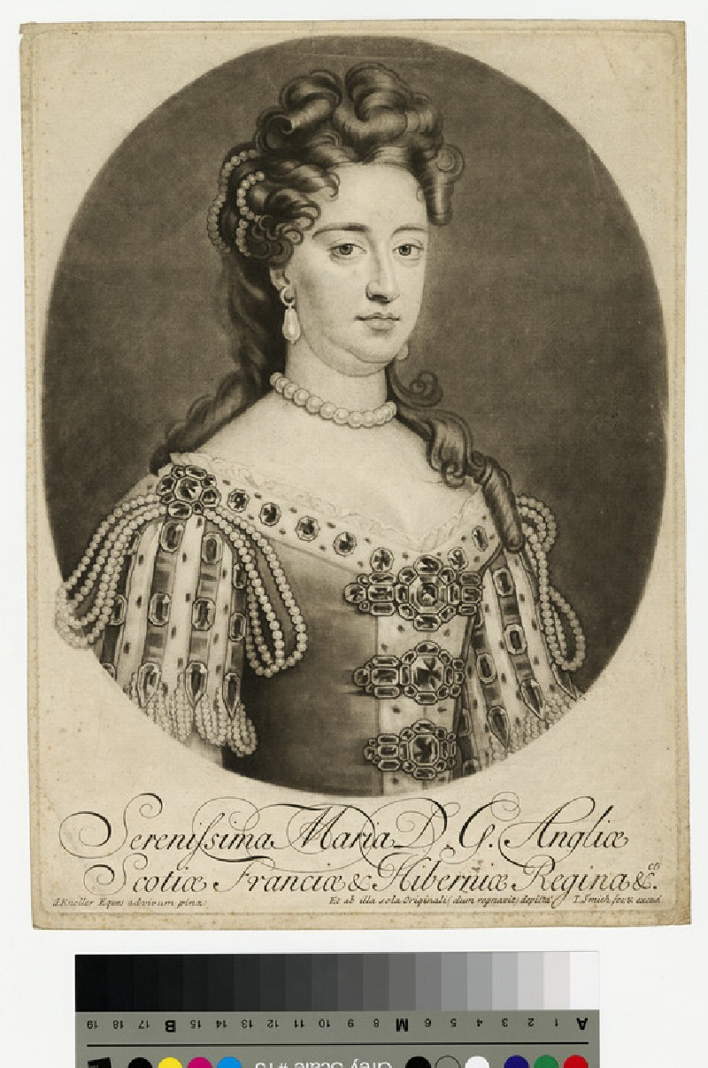 Portrait of Mary II (WAHP13214)