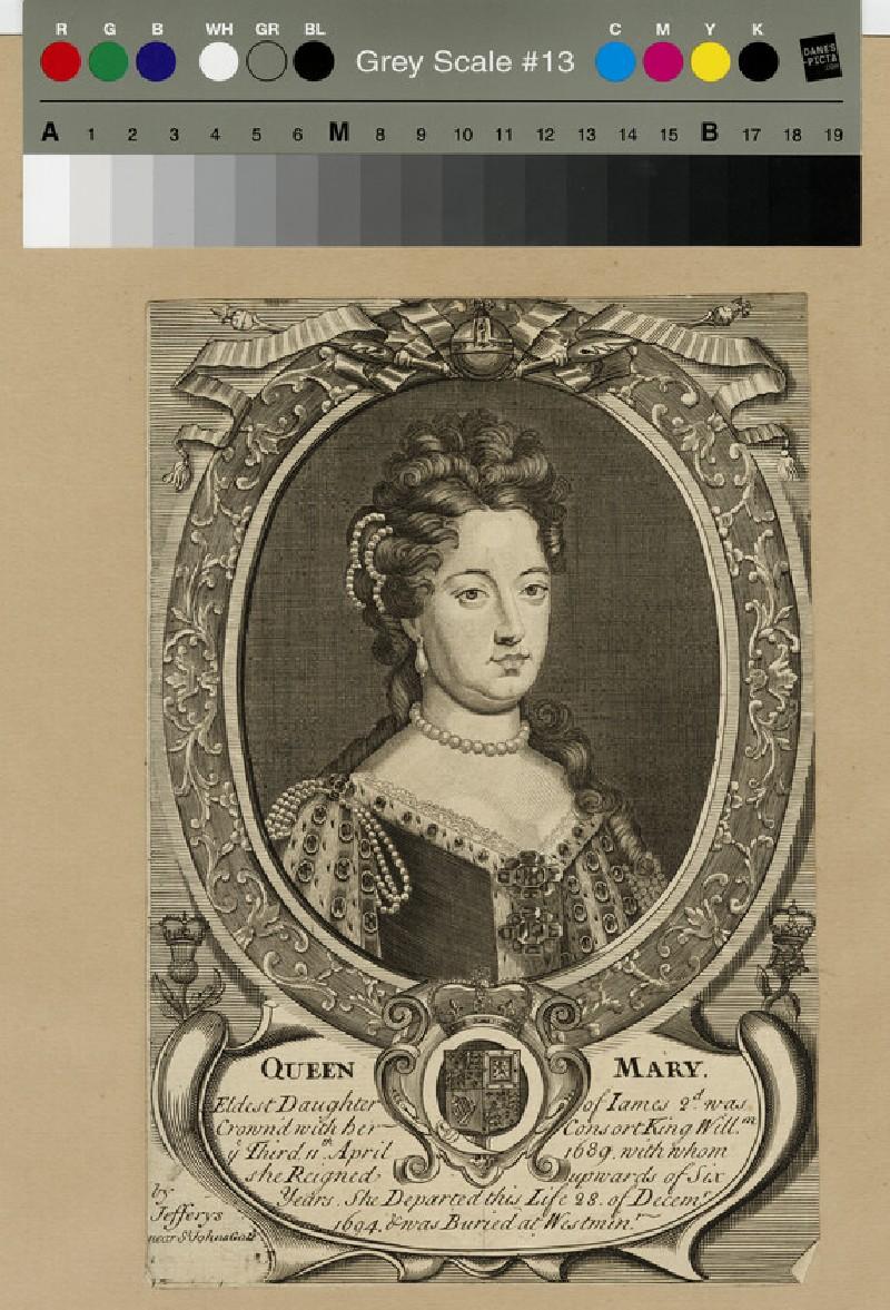 Portrait of Mary II