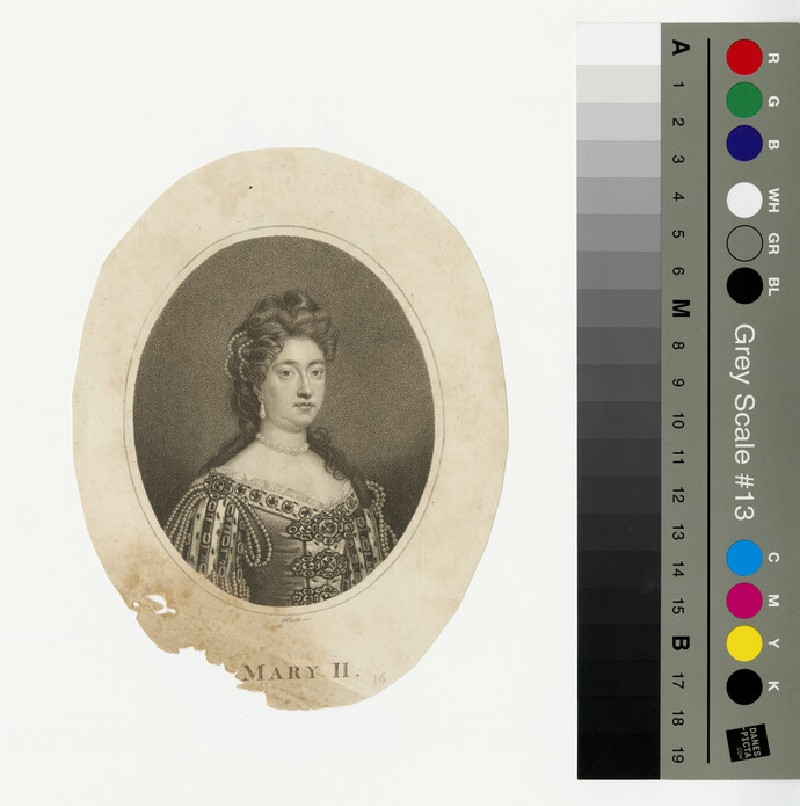 Portrait of Mary II (WAHP13225)