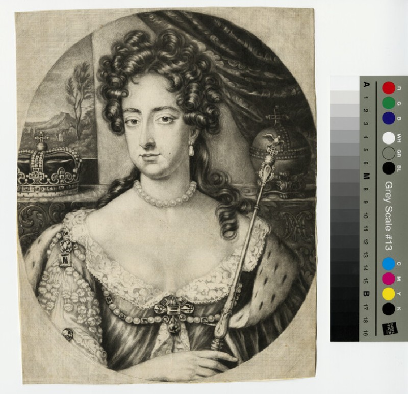 Portrait of Mary II (WAHP13250)