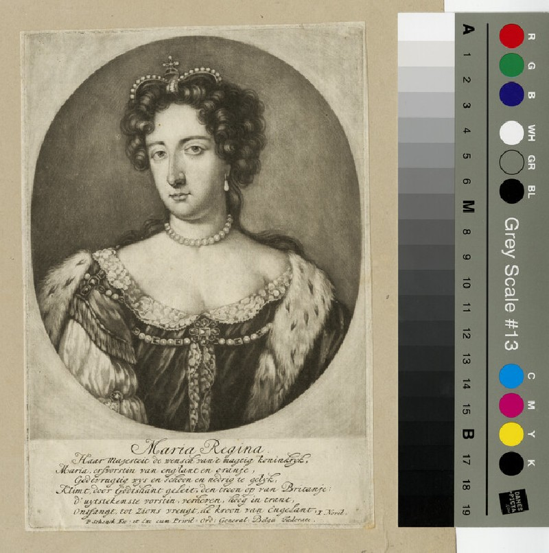 Portrait of Mary II (WAHP13259)