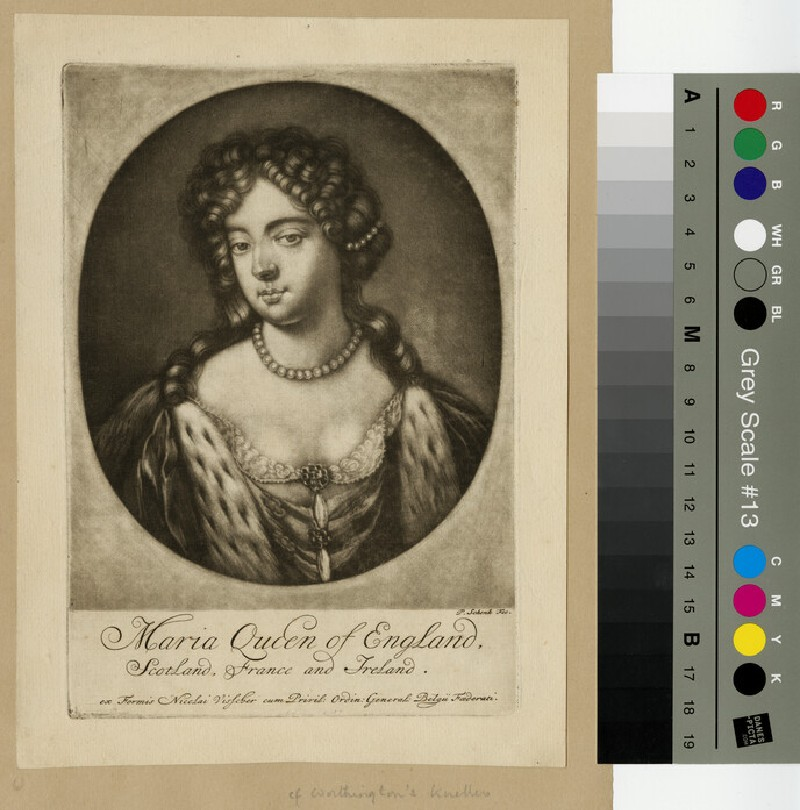 Portrait of Mary II (WAHP13260)