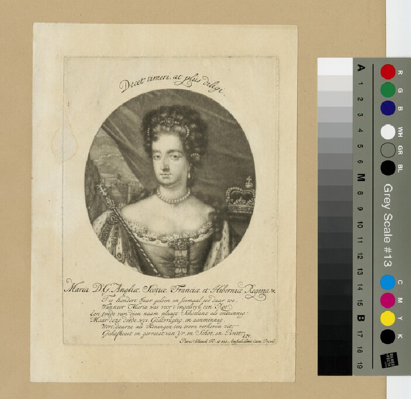 Portrait of Mary II (WAHP13262)