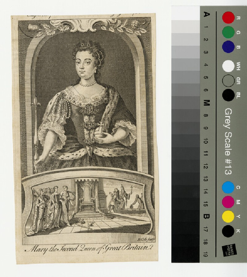 Portrait of Mary II (WAHP13265)