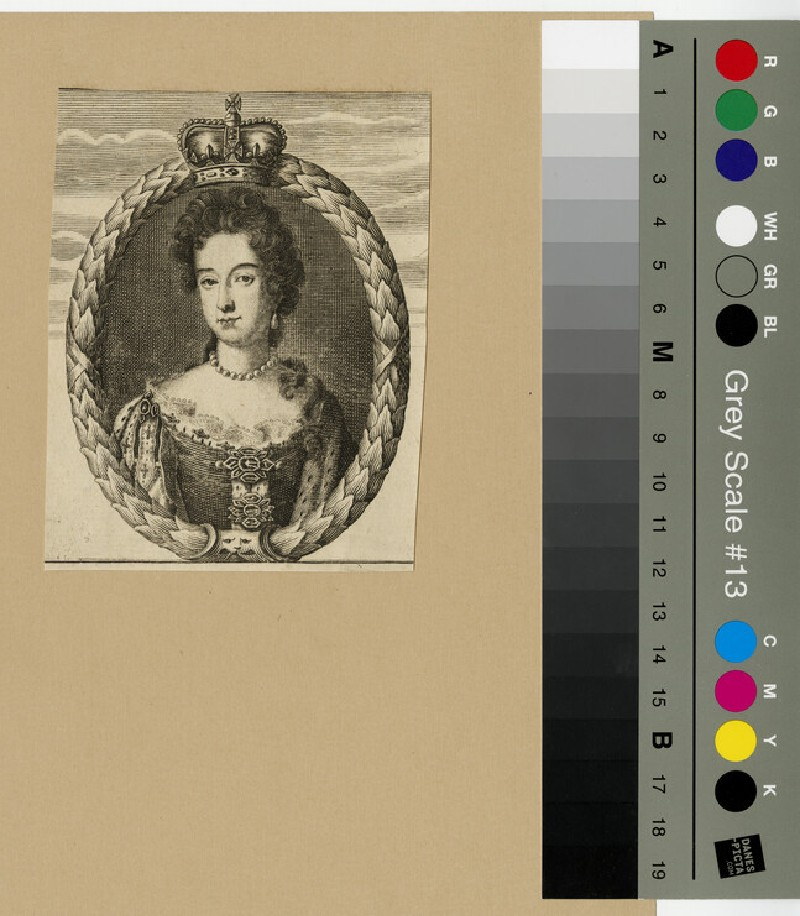 Portrait of Mary II (WAHP13268)