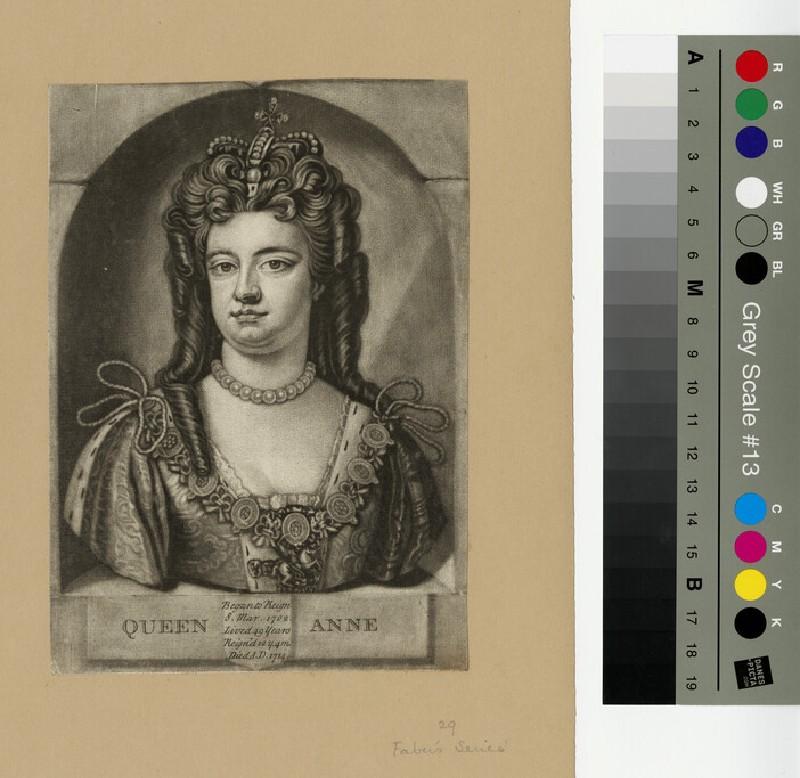 Portrait of Queen Anne (WAHP13282)