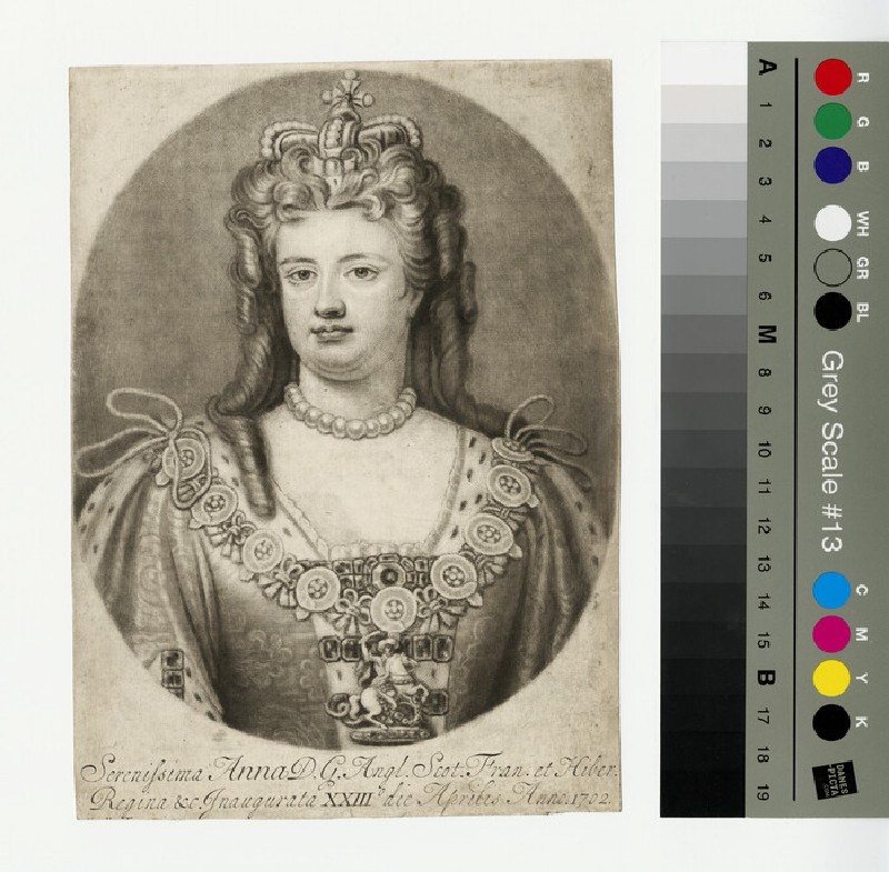 Portrait of Queen Anne