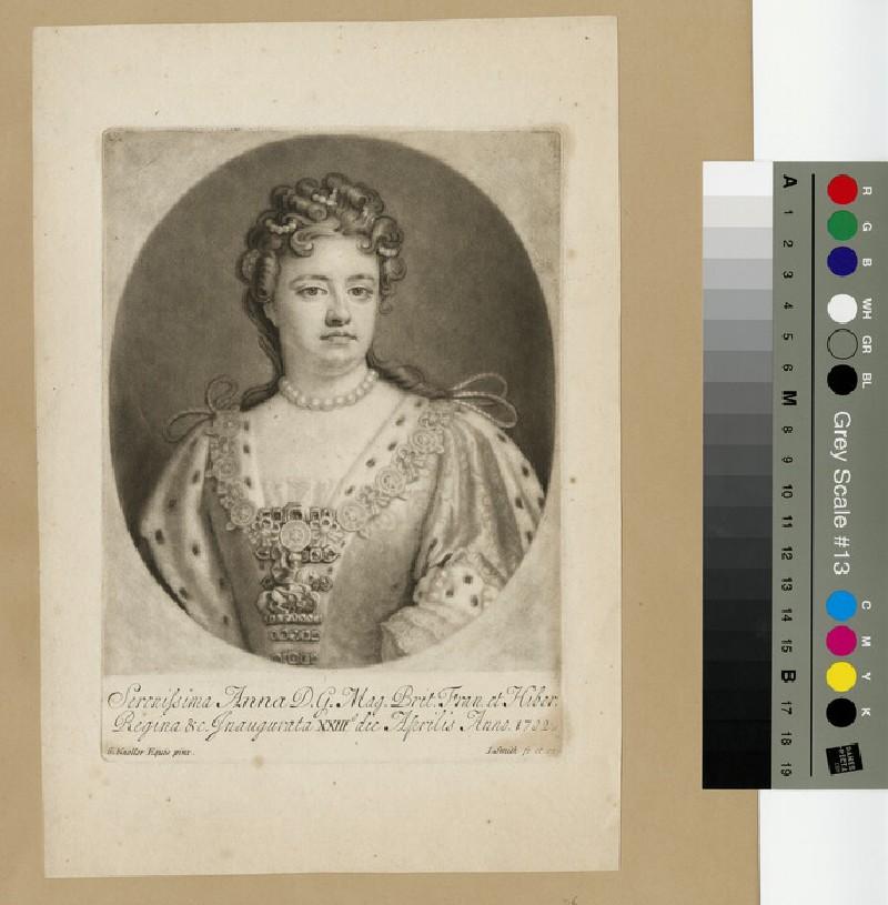 Portrait of Queen Anne (WAHP13286)