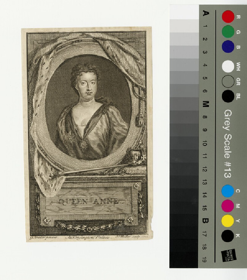 Portrait of Queen Anne (WAHP13300)