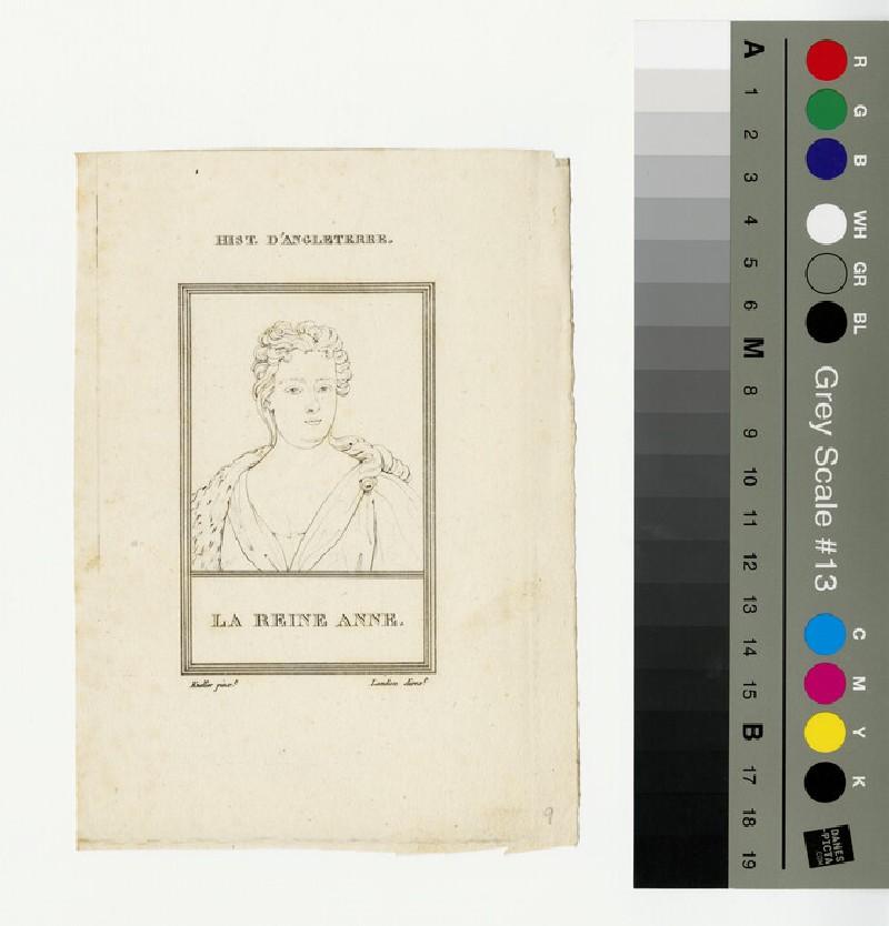 Portrait of Queen Anne (WAHP13301.2)