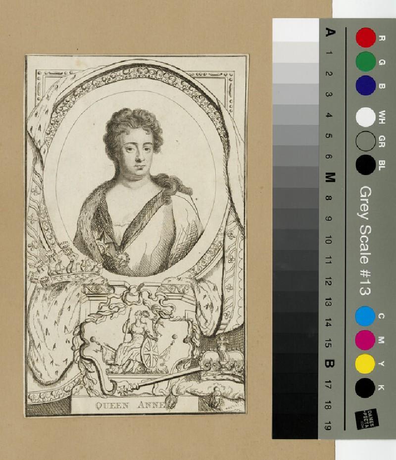 Portrait of Queen Anne (WAHP13304)