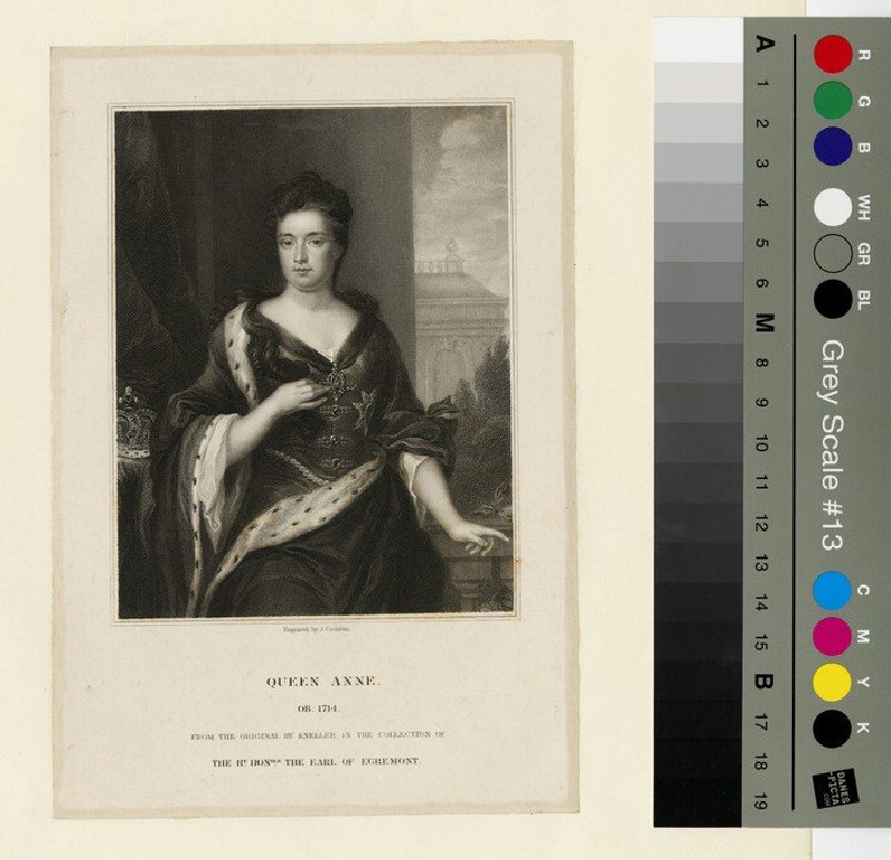 Portrait of Queen Anne (WAHP13305.2)