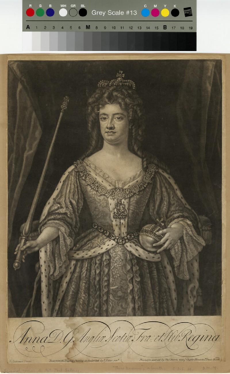 Portrait of Queen Anne (WAHP13308)