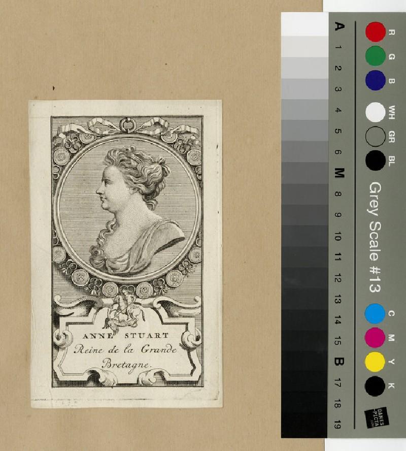 Portrait of Queen Anne (WAHP13317)