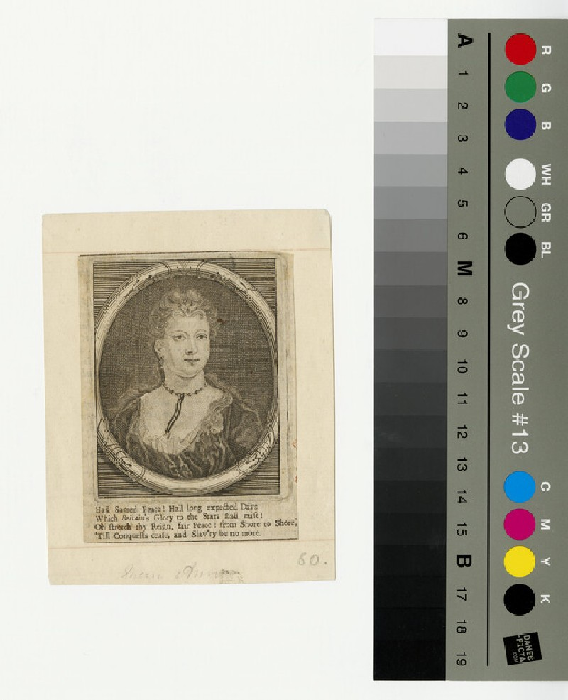 Portrait of Queen Anne (WAHP13318)