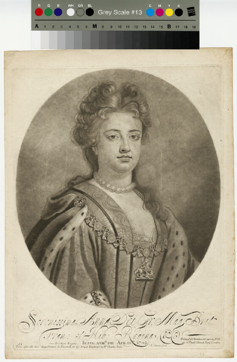 Portrait of Queen Anne (WAHP13325.2)