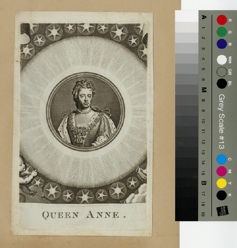 Portrait of Queen Anne (WAHP13332)