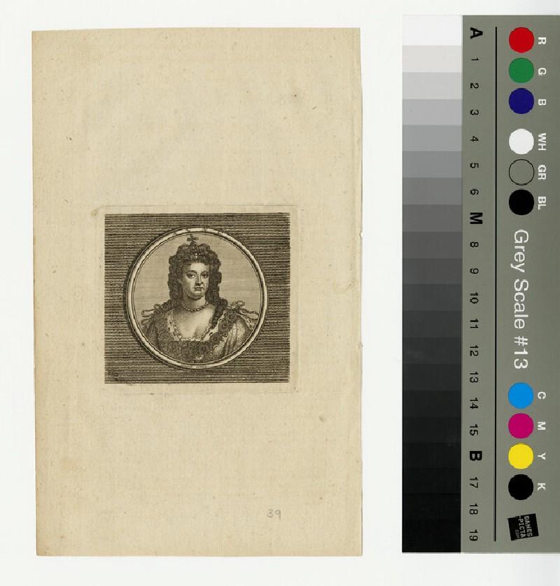 Portrait of Queen Anne (WAHP13337)