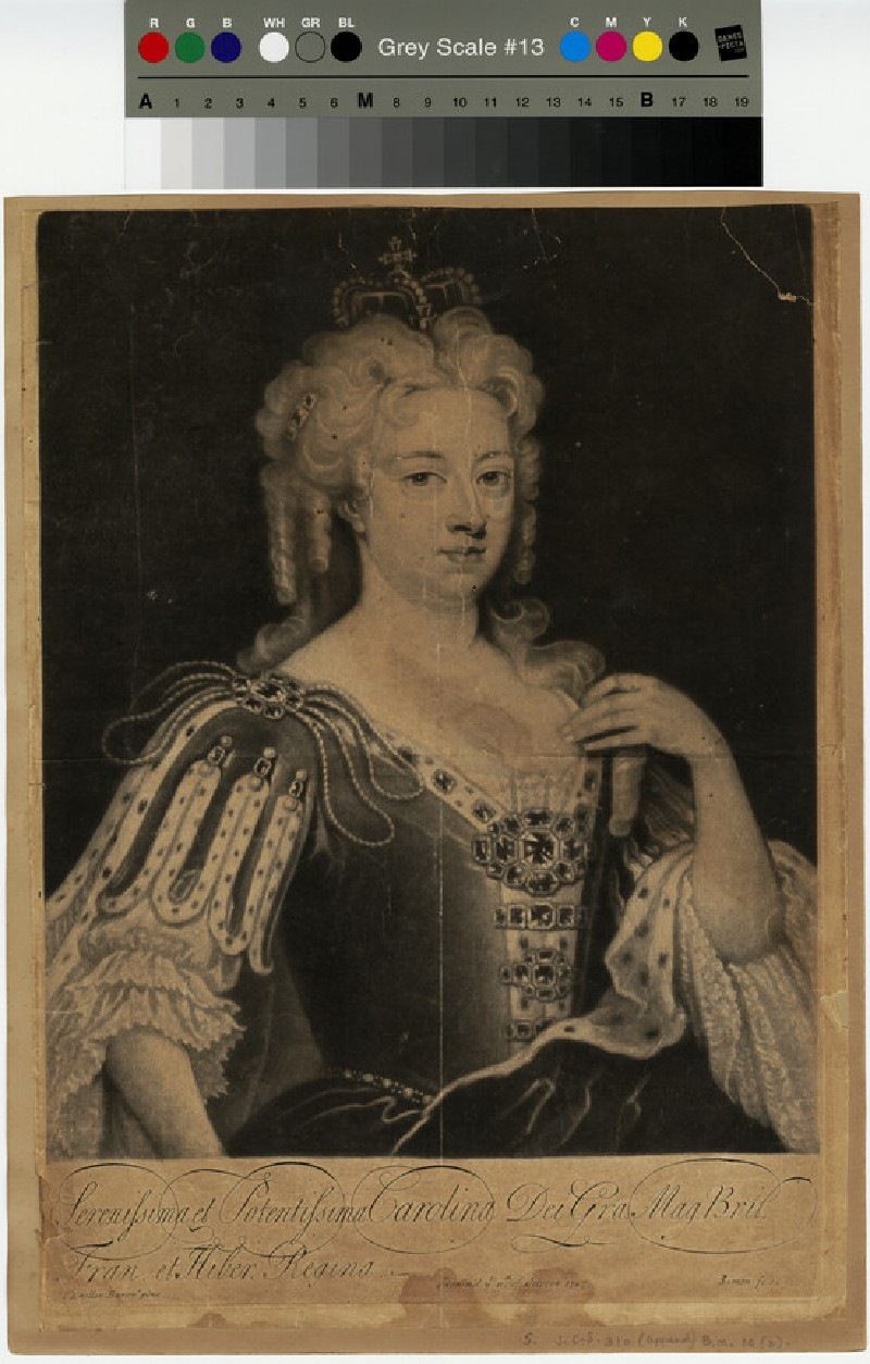 Portrait of Queen Caroline (WAHP13349)