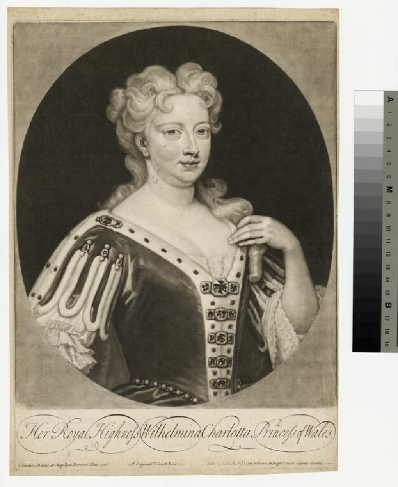 Portrait of Queen Caroline (WAHP13355)