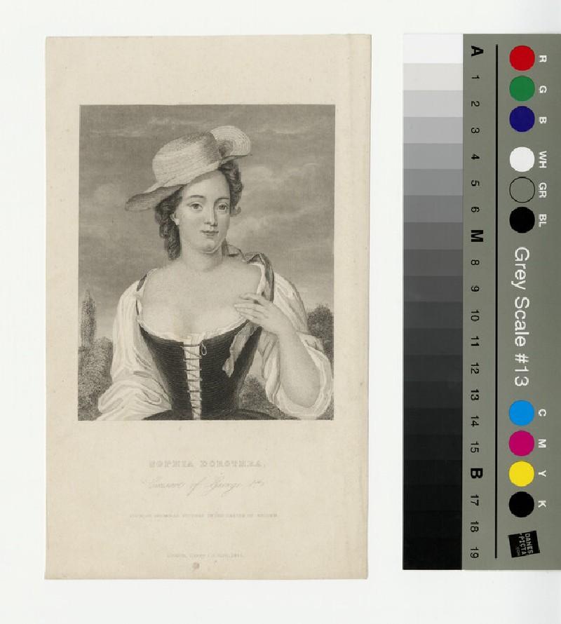 Portrait of Sophia Dorothea