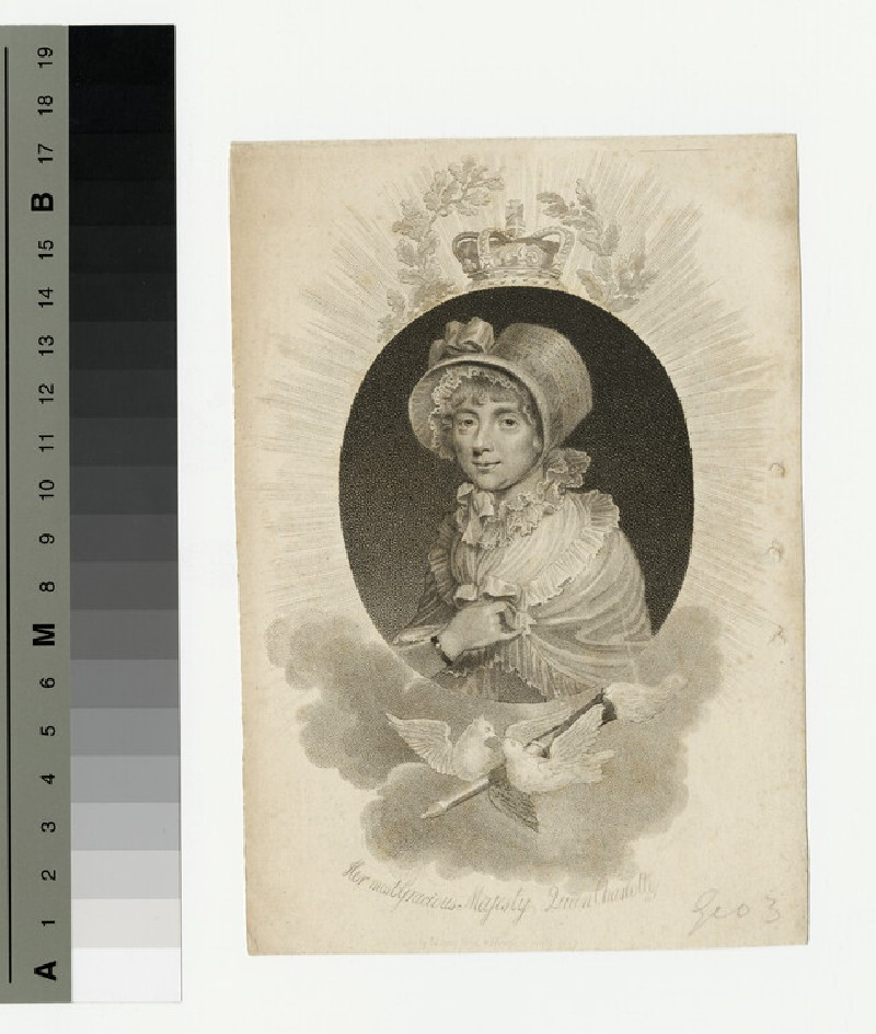 Portrait of Queen Charlotte (WAHP13402)