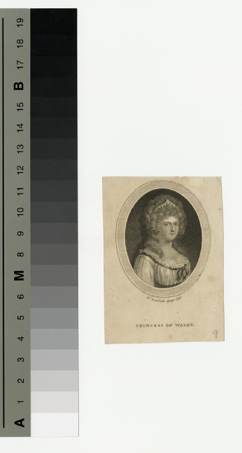 Portrait of Caroline, Princess of Wales (WAHP13487)