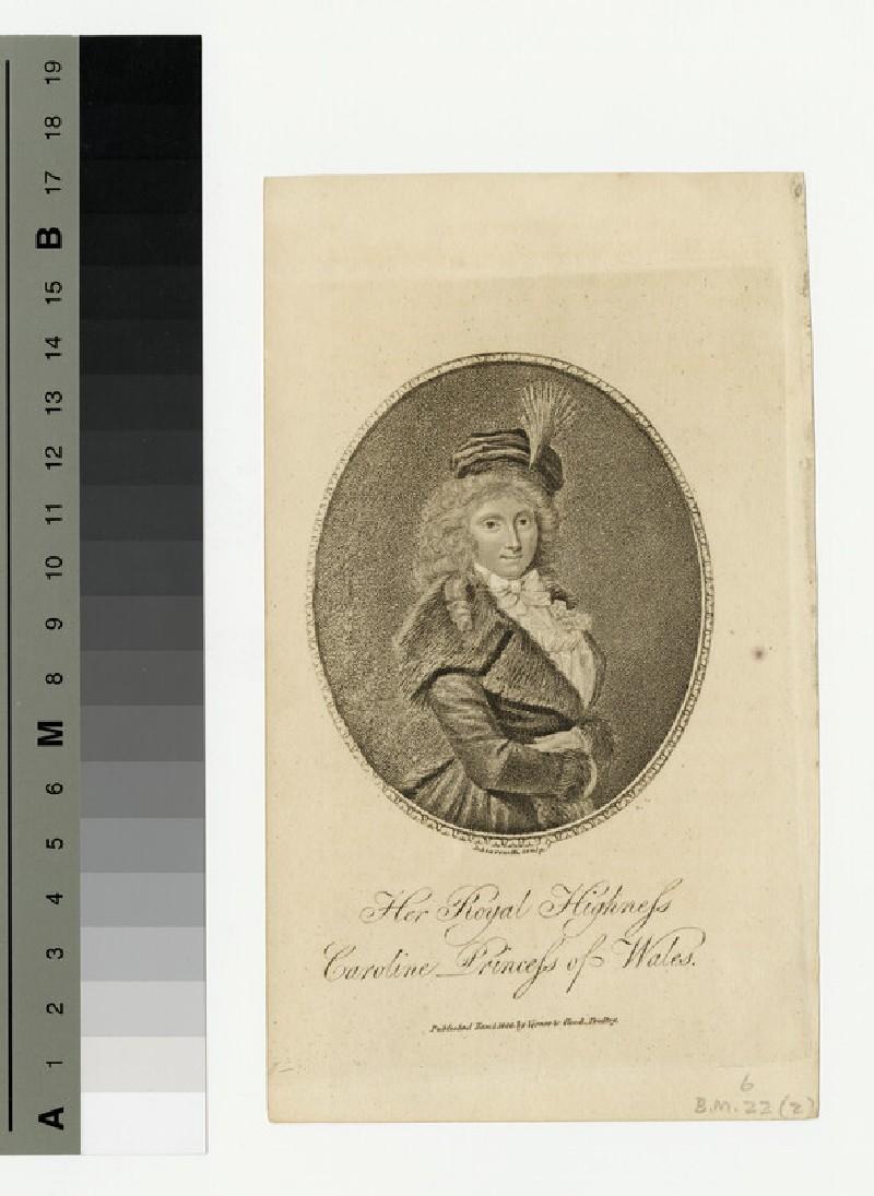 Portrait of Caroline (WAHP13495)