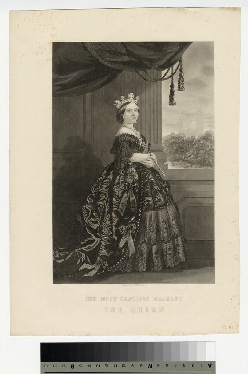 Portrait of Victoria (WAHP13543)