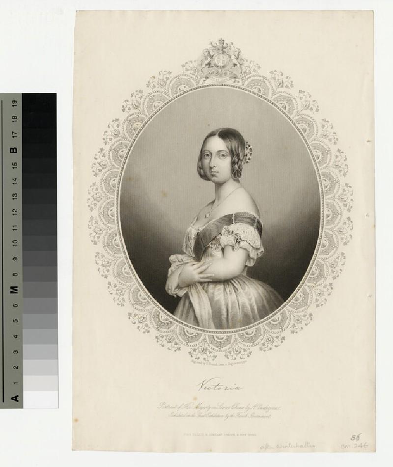 Portrait of Victoria (WAHP13585)