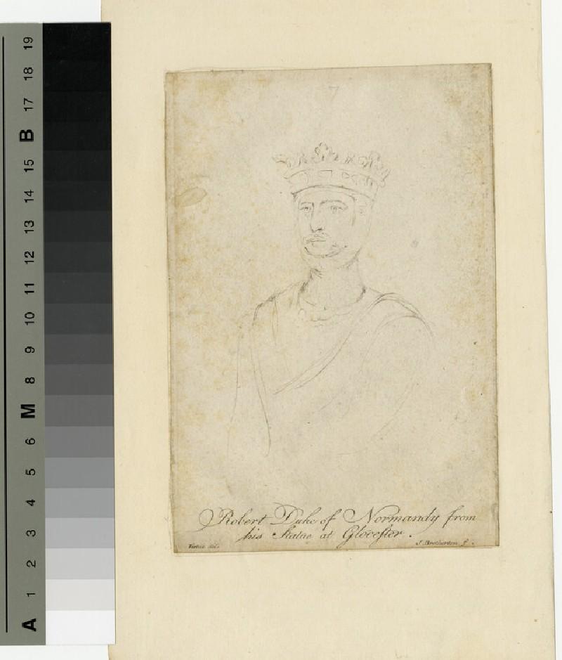 Portrait of Robert of Normandy